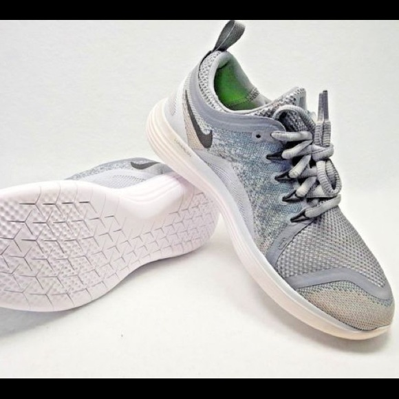 sale retailer bee62 1059a Nike Free RN Distance 2 Running Shoes Grey